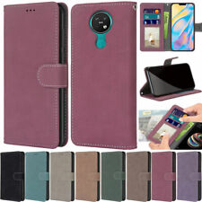 Matte Wallet Leather Flip Case Cover For Nokia 1.4 5.4 5.3 3.4 2.4 4.2 C1 C2 C3