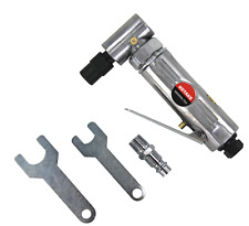 """Air Angle Grinder Pneumatic 6mm 1/4"""" 90° Angle Lightweight"""