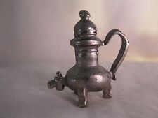 Miniature Dollhouse Heavy Cast Metal Cistern? Water Tank With Spout
