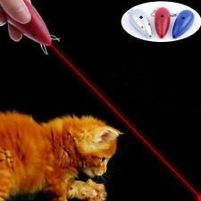 New listing Mouse shape Laser funny cat stick Laser Pointer Pen Led Light Play Cat Toy Cute