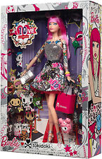 2015 Black Label Barbie Collector 10th Anniversary Tokidoki PINK HAIR Doll NRFB
