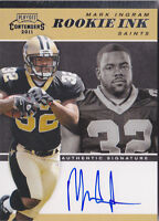 2011 Playoff Contenders Rookie Ink #20 Mark Ingram RC Auto Stated Print Run /100
