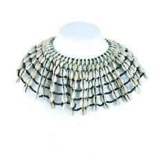 Shell Necklace Deluxe African Cowrie