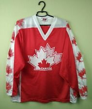 Rare Canada National Team Jersey Shirt Vintage Retro Ice Hockey Yvette