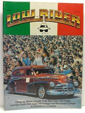 Lowrider Performance Artistry Pride Culture Car Magazine Issue June 1982
