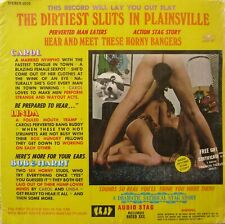 The Dirtiest Sluts In Plainsville Vinyl  Audio Stag Records 1972 Record