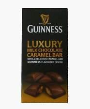 Guinness Flavoured Milk Chocolate Caramel Bar Bitter Sweet Cocoa Candy Gift