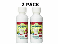 *2 PACK* Excel Roundworm Liquid Cat De-Wormer, 4-Ounce