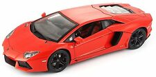Bburago 1:18 Lamborghini Aventador LP700-4 Diecast MODEL Racing Car Orange NIB