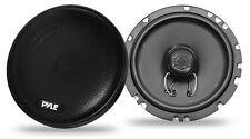 "Pyle Slim 5.25"" 13cm 130mm 160w Coaxial Two Way Pair Of Car Door Shelf Speakers"