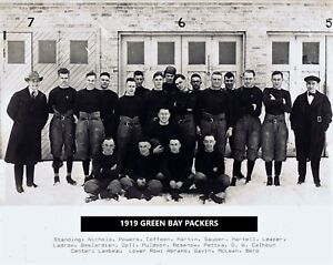 1919 GREEN BAY PACKERS 8X10 TEAM PHOTO FOOTBALL NFL PICTURE NFL CHAMPS