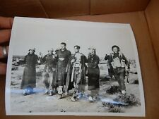 WW2 PRESS WIRED PHOTOGRAPH AUTHENTIC ORIGINAL  TOBRUK GERMAN WOUNDED POW