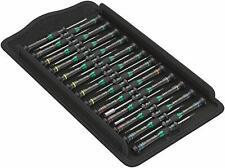 Wera 05134000001 Kraftform Micro Screwdriver 25PC w/Screwdriver Roll Big Pack