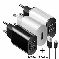 5V 1A//2.1A Dual USB Port Power Charger for JAWBONE BIG JAMBOX KLIPSCH GIG