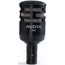 Audix D6 Cardioid Dynamic Instrument Kick Drum Microphone