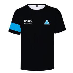 Become Human Detroit  Connor Kara Hoodie Kara Sweatshirt Baseball Coat T-Shirt