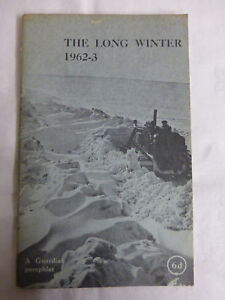 The Long Winter 1962-63 A Guardian Pamphlet - Paperback