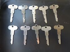 National Cash Register Counter RESET Keys Lot of 10 Model 300/700 Class Original