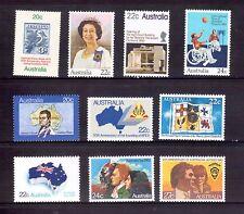 AUSTRALIA 20-24c commems MUH