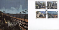 Gibraltar 2018 FDC Bridges Europa 4v Set Cover Bridge Architecture Stamps