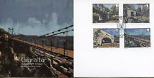 Gibraltar 2018 FDC Bridges Europa 4v Set Cover Bridge Architecture Stamps