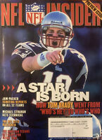 NFL Insider Magazine (Preview Issue) July/August 2002 Tom Brady