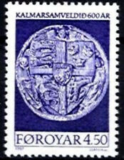 Faroe Islands 1997 600th Anniv of Kalmar Union, Mint Never Hinged/Unmounted Mint