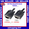 New 2M S VGA 15 Pin Monitor Male to Male TFT Cable Computer PC TO LCD Plasma TV