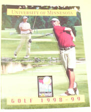 University of Minnesota Golf 1998-99 Yearbook Nice! SEE
