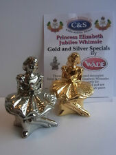 WADE-WHIMSIE PRINCESS ELIZABETH JUBILEE GOLD AND SILVER SPECIAL LE 20