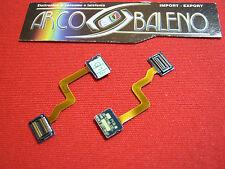 MODULO FLAT FLEX FLET per SAMSUNG SGH E900 DISPLAY BIANCO TASTI KO Nuovo