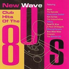 New Wave Club Hits of the 80's by Various Artists (CD, Feb-2006) New Free Ship