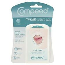COMPEED COLD SORE INVISIBLE PATCHES X 15