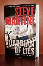 Guardian of Lies, Steve Martini *Signed 1st Edition* HC/DJ *10 9 8 7 6 5 4 3 2 1