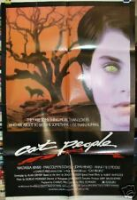 CAT PEOPLE Nastassia Kinski  Malcolm McDowell '82 original movie poster