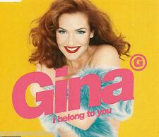 GINA G - I Belong To You (UK 6 Track CD Single Part 1)