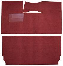 1957-58 Chrysler Windsor Carpet Kit Cut & Sewn 80/20 Loop Black Red Blue Copper