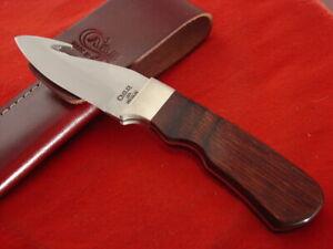 """Case XX USA 786 3-1/2  7.75"""" Fixed Blade Guthook Zipper Sheath Knife MINT"""