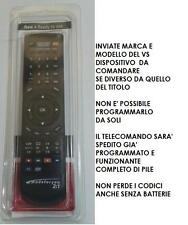 TELECOMANDO SOSTIT. TV MIIA MTV-32LCHD X ALTRI MODELLI RICHIEDETE COMPATIBILITA'