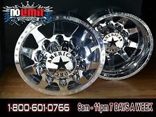 American Force Independence 22X8.25 Dually Truck Wheels Rims Ford  Dodge