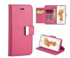 MUNDAZE Extra Storage Wallet Flip Case for Apple iPhone 7/8+ Plus - Pink