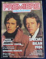 PREMIÈRE CINÉMA + Fiches - C. Lambert, Splash, A. Dussolier... - N°94 / 1985