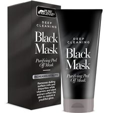 Pure Original Deep Cleaning Purifying Black Mask – For Blackheads, Acne And A