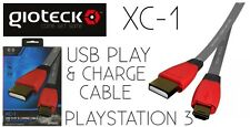 PlayStation 3 USB Play & Charge Cable Gioteck XC-1 Brand New