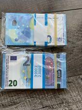 Reproduction x100 Billets de 20€ Movie Money