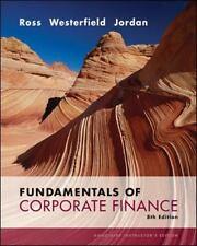 Fundamentals of Corporate Finance, 8th Edition, Bradford D. Jordan, Stephen A. R