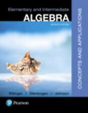 College math textbooks ebay elementary and intermediate algebra by marvin l bittinger hardcover book 7th ed fandeluxe Images