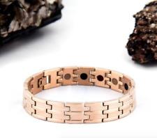 Authentic Pur life Negative Ion Bracelet ELEGANT T ROSE GOLD STEEL BALANCE NEW!!