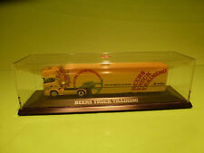 HERPA 1:87? SCANIA 420 BEERS TRUCK TRAINING - RARE SELTEN - GOOD CONDITION