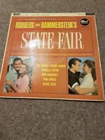 RODGERS AND HAMMERSTEINS STATE FAIR MONO HA-D DOT RECORDS LONDON  LP